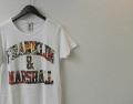『特別価格』 FRANKLIN&MARSHALL(フランクリン&マーシャル) ボタニカルxロゴプリント半袖Tシャツ (ホワイト) S/M 正規品
