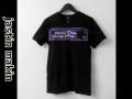 【プレミアムサマーセール】 jastin makin (ジャスティンメイキン) x RLISP スターxロゴパッチ カットオフデザインクルーネック半袖Tシャツ(ブラック) M/L