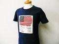 『特別価格』 DENIM&SUPPLY Ralph Lauren(デニム&サプライ ラルフローレン) パッチデザイン半袖Tシャツ (ネイビー) M/L