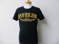 『特別価格』 REPLAY(リプレイ) フロッキーロゴデザイン半袖Tシャツ(ネイビー) S/M
