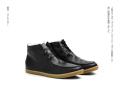 shoe the bear(シューザベア) Native Black Fur/中ボアレザーハイカットシューズ /EU42(26.5cm~27cm)/EU44(27.5~28cm)