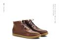 shoe the bear(シューザベア) Native Brown Fur/中ボアレザーハイカットシューズ /EU42(26.5cm~27cm)/EU44(27.5~28cm)