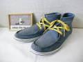 『特別価格』 shoe the bear(シューザベア) スエードハイカットシューズ(ブルー) /EU42(26.5-27cm) EU44(27.5-28cm)