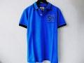 『特別価格』 SWEET YEARS(スウィートイヤーズ) カモフラデザインSY半袖ポロシャツ(ブルー) S/M