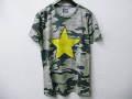 『特別価格』 SWEET YEARS(スウィートイヤーズ) カモフラxスタースタッズ半袖Tシャツ(カーキ) S/M