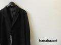 hanakazari(ハナカザリ) ドット柄テーラード2Bジャケット/セットアップスーツ (ブラック) 38(M)/40(L)