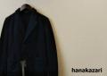 hanakazari(ハナカザリ) ダブルテーラードジャケット/Pコート (ネイビー) 38(M)/40(L)
