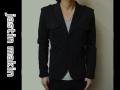 『WINTER CLEARANCE SALE!』 jastin makin x RLISP(ジャスティンメイキン) スウェット ジャケット(ブラック) M/L