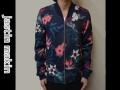 『WINTER CLEARANCE SALE!』 jastin makin x RLISP(ジャスティンメイキン) MA-1 花柄ジャケット(ネイビー) M/L/XL