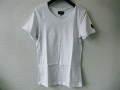 『ラストクリアランス!大処分価格!』 jastin makin (ジャスティンメイキン) x RLISP 赤カモフラスカル刺繍カットオフデザイン半袖Tシャツ(ホワイト)S/M/L