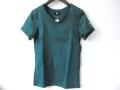 『ラストクリアランス!大処分価格!』 jastin makin (ジャスティンメイキン) x RLISP シルバー系カモフラスカル刺繍カットオフデザイン半袖Tシャツ(グリーン) S/M/L