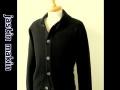 『特別価格』 jastin makin x RLISP(ジャスティンメイキン) ショールニットジャケット/カーディガン (ブラック) M/L