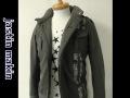 『プレミアムタイムセール!』 jastin makin x RLISP(ジャスティンメイキン) ラインデザインジャケット (カーキ)  M/L