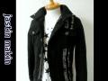 jastin makin x RLISP(ジャスティンメイキン) ラインデザインジャケット (ブラック)  M/L