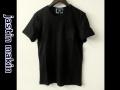 『ラストクリアランス!大処分価格!』 jastin makin (ジャスティンメイキン) x RLISP スターxカモフラスカル刺繍カットオフデザインクルーネック半袖Tシャツ(ブラック2) S/M/L