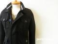 jastin makin x RLISP(ジャスティンメイキン) M65デザインジャケット(ブラック) M/L