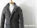 『特別価格』  lino storia(リノストーリア) イタリアンカラージャケット (グレー) M/L/XL