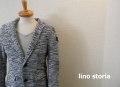 『WINTER CLEARANCE SALE!』 lino storia(リノストーリア) 2Bテーラードジャケット (サックス) M/L