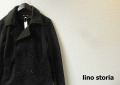 lino storia(リノストーリア) スリムフィットニットPコート/ジャケット/ニットアウター(チャコールグレー) M/L