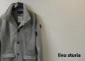 【リノストーリア プレミアムタイムセール!】 lino storia(リノストーリア) イタリアンカラーポンチスウェットジャケット (グレー) M/L/XL