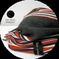 lino storia(リノストーリア) ストライプデザインマフラー(レッド) ユニセックス/イタリア製