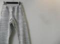 SPINNER BAIT (スピナーベイト) フリーススウェットパンツ/MIXカラーイージーパンツ (ホワイト) 38(S-M)/40(M-L)
