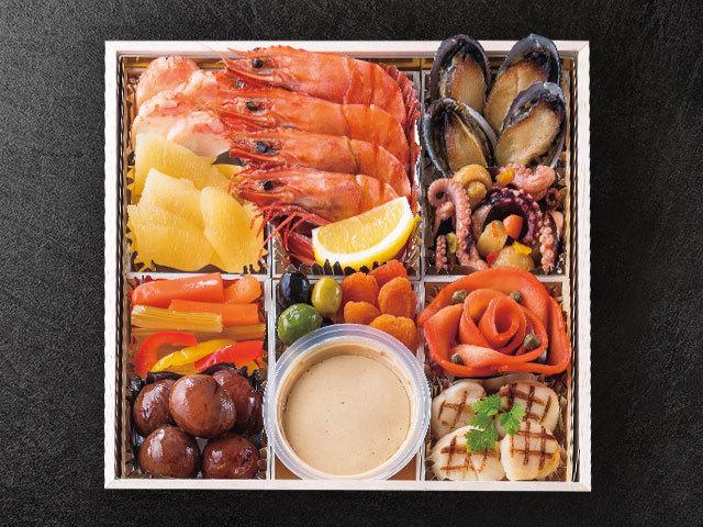 鎌倉山洋風おせち料理上段