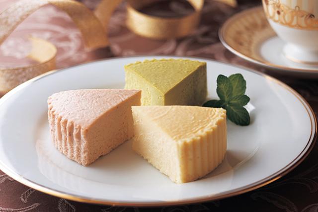【季節限定】 栗チーズケーキ