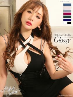 【XS~Lサイズあり】サイドチュール切替×ストレッチタイトミニドレス(GL1865)