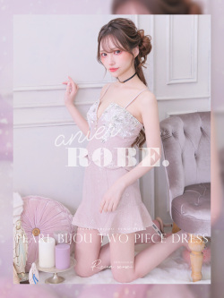 ★予約商品★【8月中旬入荷予定】Pearl Bijou Two Piece Dress(anier4003)