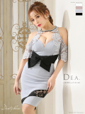 【XS~Lサイズあり】リボンベルトデザイン×バイカラー切替タイトドレス(DE1735)