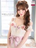 【XS〜Lサイズあり】立体フラワーモチーフ×オフショルタイトドレス【リボンベルト付】(fm1778)