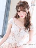 【XSサイズあり】フラワー刺繍レース×首元クロスフレアミニドレス(fm1815)