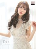 【Lサイズあり】総レース×フェミニンタイトドレス(DE2033)