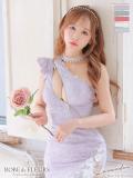 【XS~Lサイズあり】Lacy Crystal Dress(fm2361)