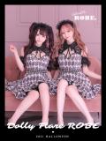 【XS~Lサイズあり】Dolly Flare ROBE [鈴・カチューシャ付き](anier4005)