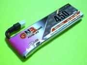 GNB HV 80-160C放電 3.8V450mAh Molex