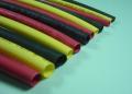 シュリンクチューブ 赤・黒・黄 直径 1、2、3、4、5mm 各20cm