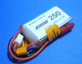 Dualsky 30C放電 7.4V250mAh XP02502ECO 白