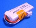 Dualsky 30C放電 7.4V220mAh XP02202ECO-PHR UMX 白