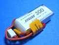 Dualsky 30C放電 7.4V300mAh XP03002ECO 白