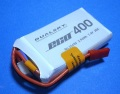 Dualsky 30C放電 7.4V400mAh XP04002ECO 白