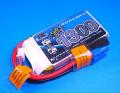 【40%引】Dualsky 35-70C放電 7.4V1300mAh XP13002EX 青