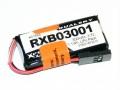 Dualsky 受信機用 リポ 3.7V300mAh RXB03001 白黒