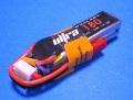 Dualsky 50C放電 7.4V180mAh XP01802ULT 黒