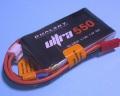 Dualsky 50C放電 7.4V550mAh XP05502ULT 黒