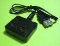 【50%引】XK-K110 用 3.7Vバッテリー充電器(USB入力、2口出力)