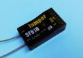 Jumper 2.4G 8ch受信機 SF810 フタバ S-FHSS互換 黒黒2線