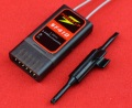 Power UP 2.4G 4ch受信機 SF410 フタバ S-FHSS互換 黒黒