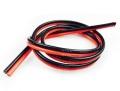 Wシリコンワイヤー (22AWG) 赤・黒 各1m計2m